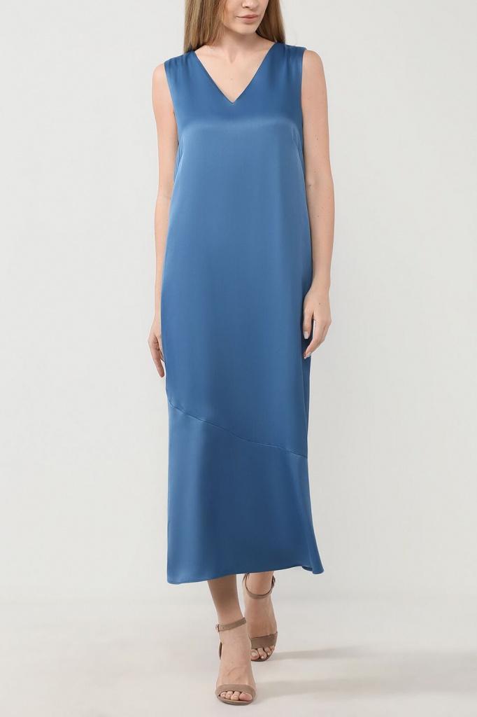 Платье из вискозы в бельевом стиле